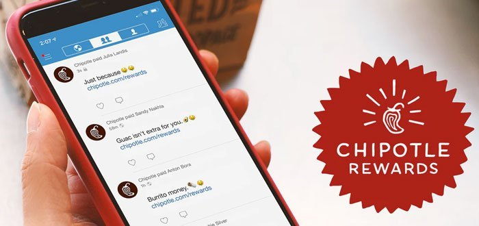 Chipotle Rewards, the customer loyalty program by ultrapersonalización