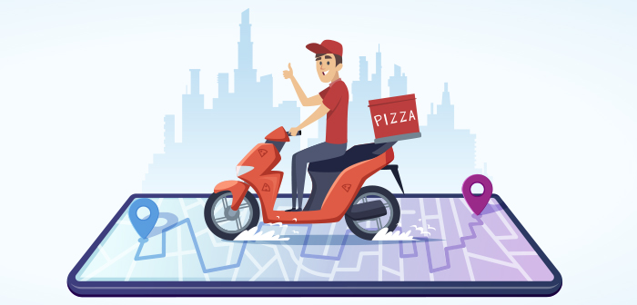 Domino's Pizza copia los servicios de seguimiento de entrega en tiempo real de Uber Eats