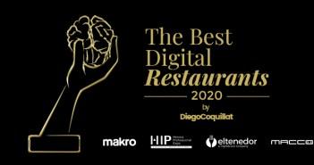 Abiertas las nominaciones para la 3ª Edición de los premios The Best Digital Restaurants 2020