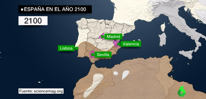 Southern Spain will become a desert if climate change is not stopped: & Quot; will be peaks up 50 degrees""