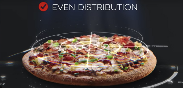 The system is a technological collaboration between Domino's Pizza and Dragontail Systems, team that has spent two years developing the tool.