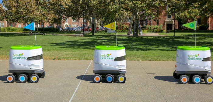 Snackbot, the delivery robot revolutionizes pecking at university