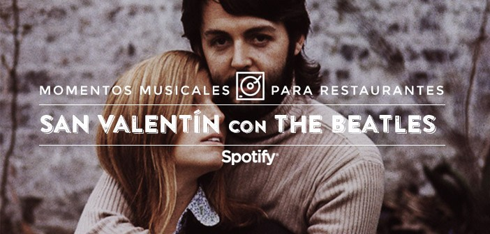 Music for restaurants: 50 songs for a Valentine with The Beatles