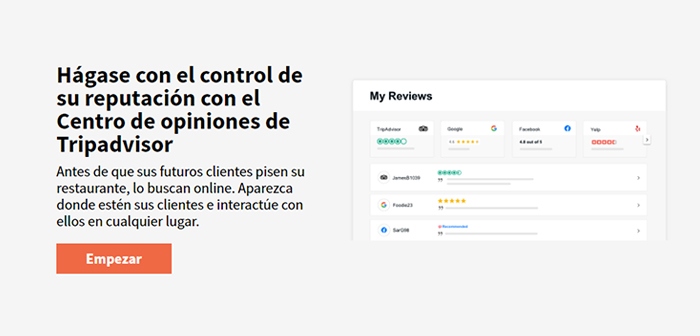 We speak nothing less than central advisor reviews, an interactive portal that has come into operation last Feb. 5 that allows users to hire this service registered to manage their online reputation globally.