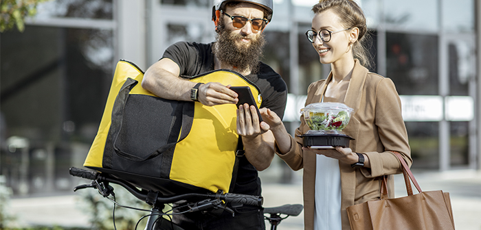 The start-ups of food home delivery gaining ground in a market increasingly competitive