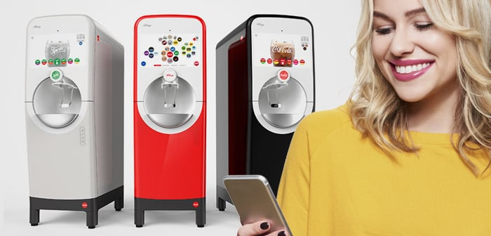 Coca-Cola launches a contactless drink dispenser for restaurants that the customer controls from their mobile