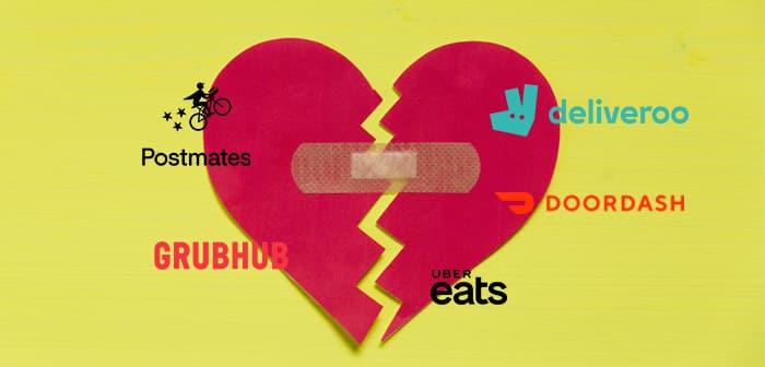 La relation entre les restaurants et les entreprises de livraison de nourriture se refroidit