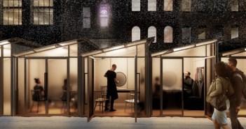 Chicago celebra el mayor concurso de diseño de soluciones de exterior para ayudar a los restaurantes en el frío invierno