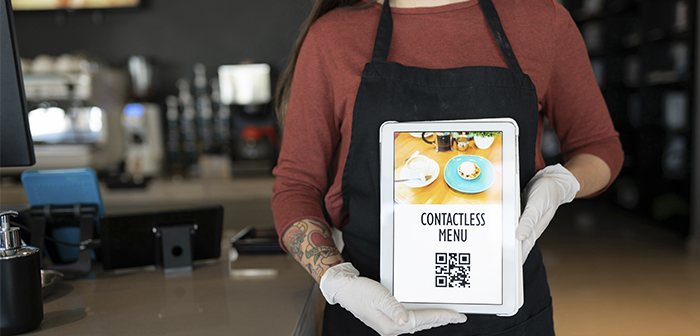 Solutions to become a Contactless Restaurant and avoid the transmission of Covid19 Solutions to become a Contactless Restaurant and avoid the transmission of Covid19