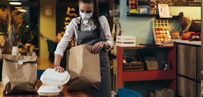 ¿Los restaurantes se están convirtiendo en tiendas de alimentación?