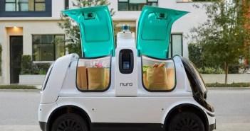 Autorizado en California que pequeños vehículos autónomos repartan comida, medicinas y otros artículos