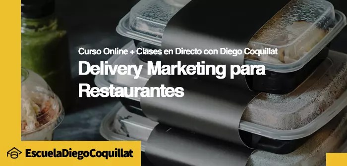 Curso de Delivery Marketing y Dark Kitchen en cada clase analizamos un caso práctico sobre un agente relevante en el sector