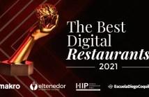 4ª Edición de los Premios The Best Digital Restaurants 2021