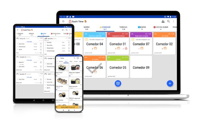 El software desarrollado por González-Outón y su equipo integra en una misma aplicación todas las herramientas de gestión necesarias en el restaurante: desde el aprovisionamiento hasta el futuro plan de fidelización de clientela.