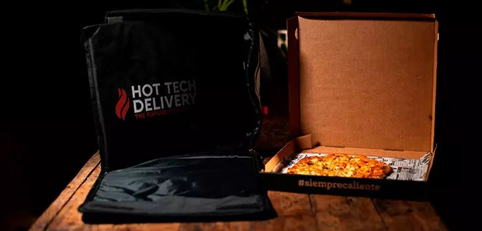 La innovación en delivery llega de la mano de HotTechDelivery y su bolsa térmica calefactable.