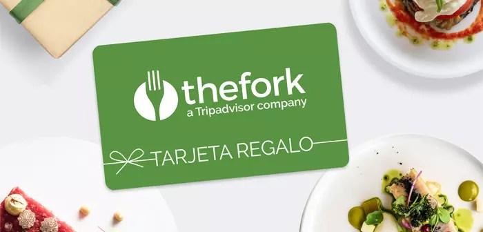 TheFork lanza su tarjeta regalo para potenciar el turismo gastronómico