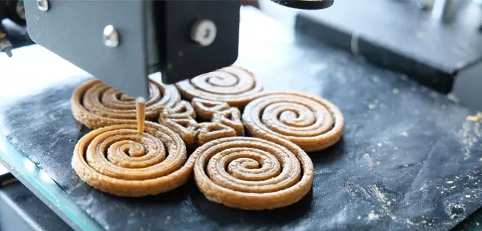 3D food printing is one of the most important lines of work for the company.