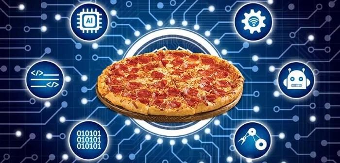 Domino's Pizza veut mener la course à l'intelligence artificielle sur le marché de la restauration.