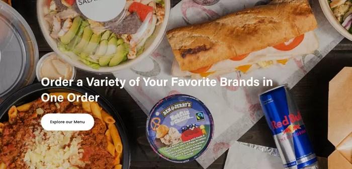 Según palabras de Mark Choy, actual presidente de Ghost Kitchen Brands, su empresa se comporta en cierta medida como una «plaza de comidas».
