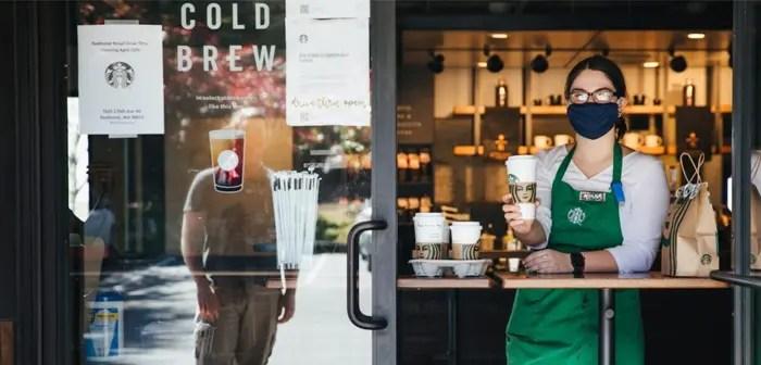 Starbucks saca partido a la crisis del coronavirus reinventando su app móvil.