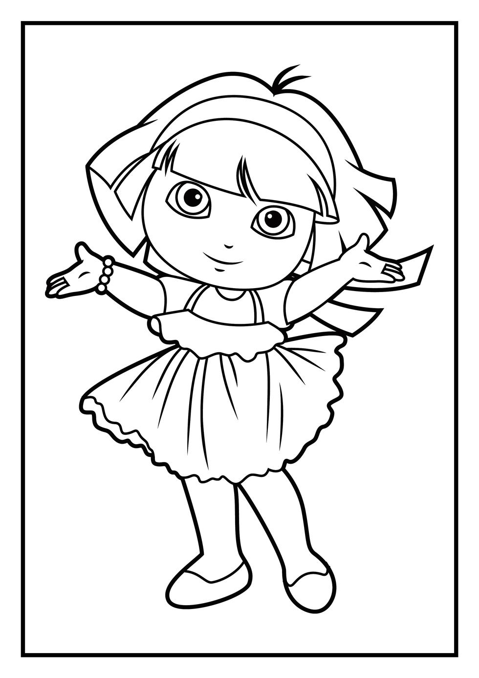 Dora The Explorer Worksheets Free | Printable Worksheets and ... | 1386x980