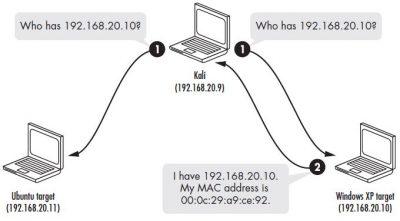 ARP resolution process