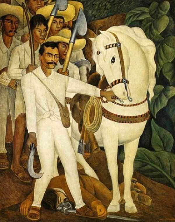 Image result for rivera mexican revolution