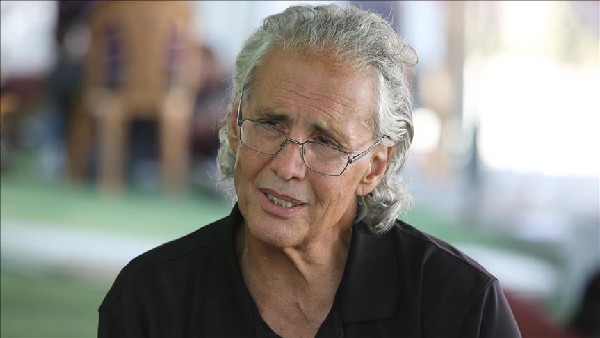 Han el-Ahmer'e destek için Fransa'dan Filistin'e geldi