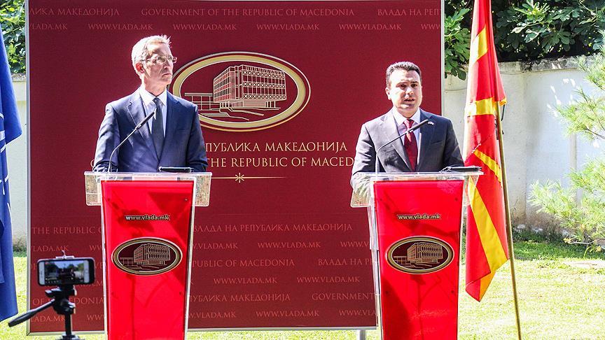 NATO, Makedonya'yı 30. üye olarak kabul etmeye hazır