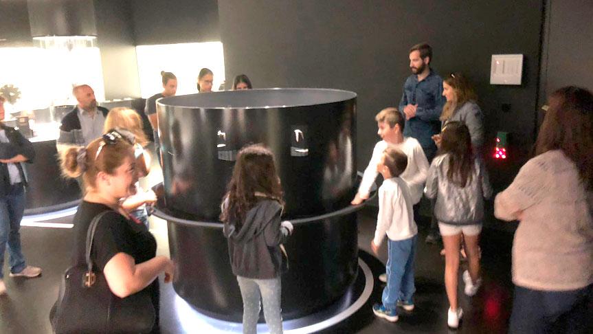 Frankfurt'un müzelerini gezdiler