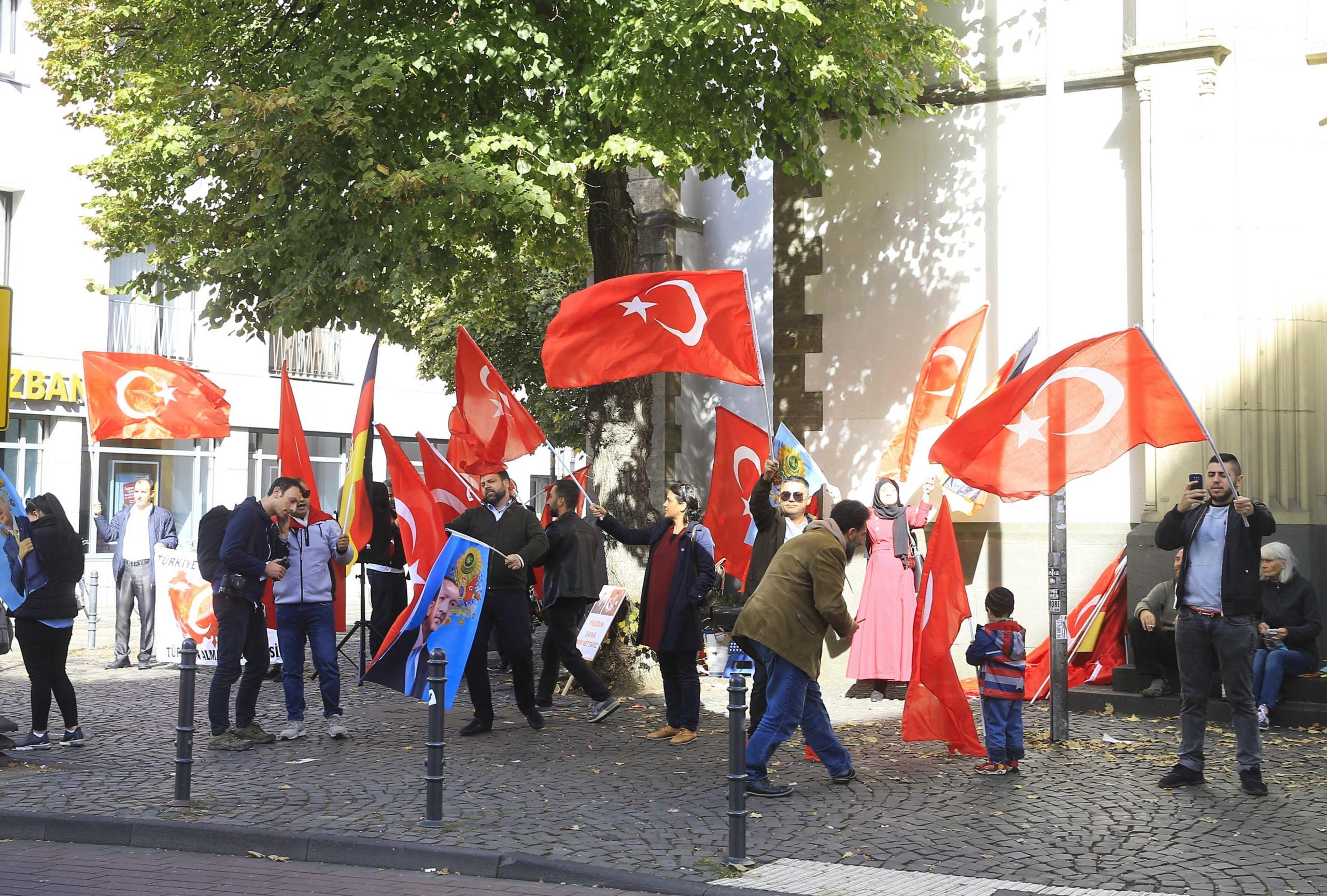 Cumhurbaşkanı Erdoğan Köln'de