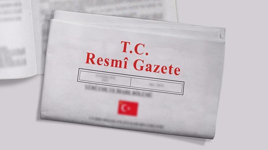 Büyükelçi ataması Resmi Gazete'de