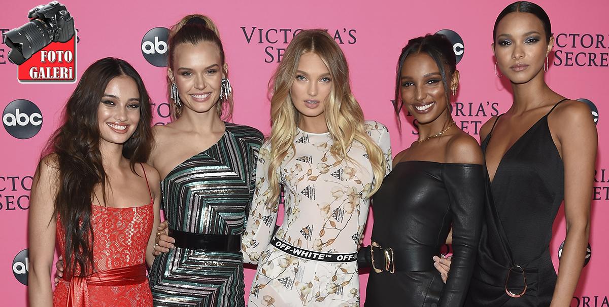 Victoria's Secret Melekleri New York'ta yeniden bir araya geldi