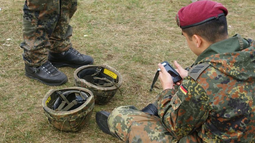 Alman Ordusu koronavirüs görevinde