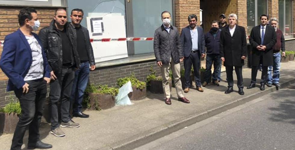 Almanya'da Ülkü Ocağı'na molotoflu saldırı