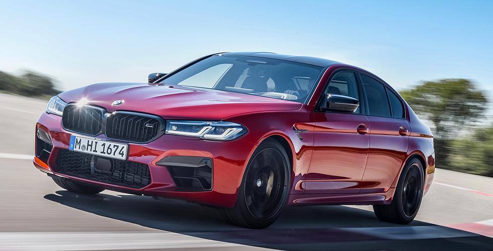 Yeni BMW M5 ve Yeni BMW M5 Competition ile Eşsiz Sürüş Keyfi