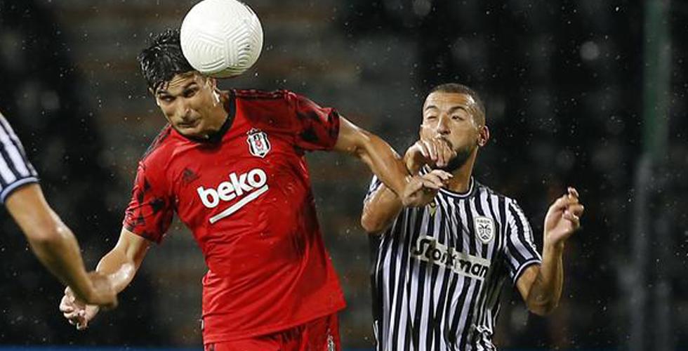 Beşiktaş deplasmanda PAOK'a yenildi: 3-1