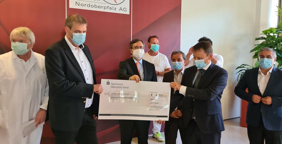 YTB Alman Hastanesine 4500 Euro bağış yaptı