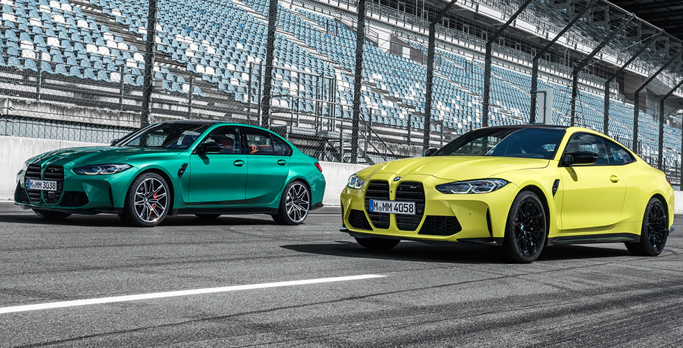 BMW M3 Sedan ve BMW M4 Coupé