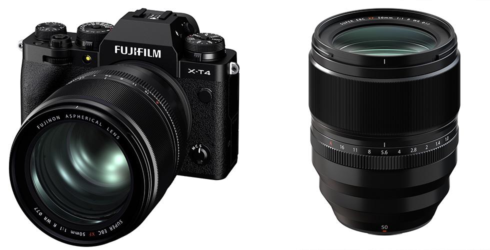 Fujifilm'den dünyanın ilk AF özellikli F1.0 lens