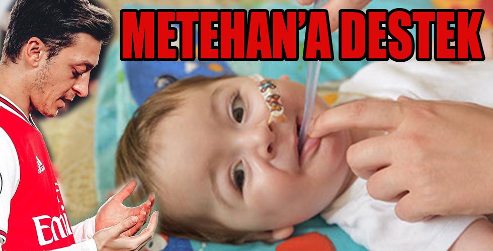 Mesut Özil'den SMA hastası Metehan için yardım çağrısı