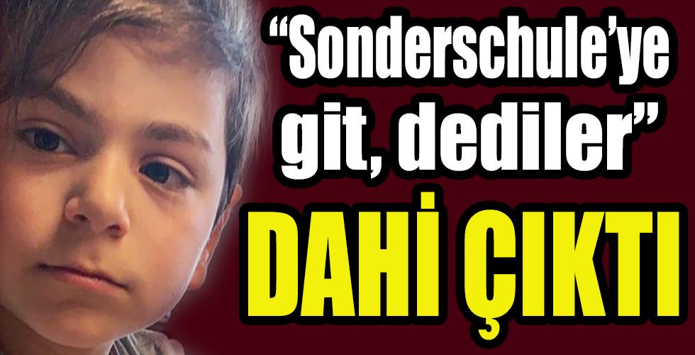 """Üstün zekalı Emir'e """"Sonderschule"""" baskısı"""