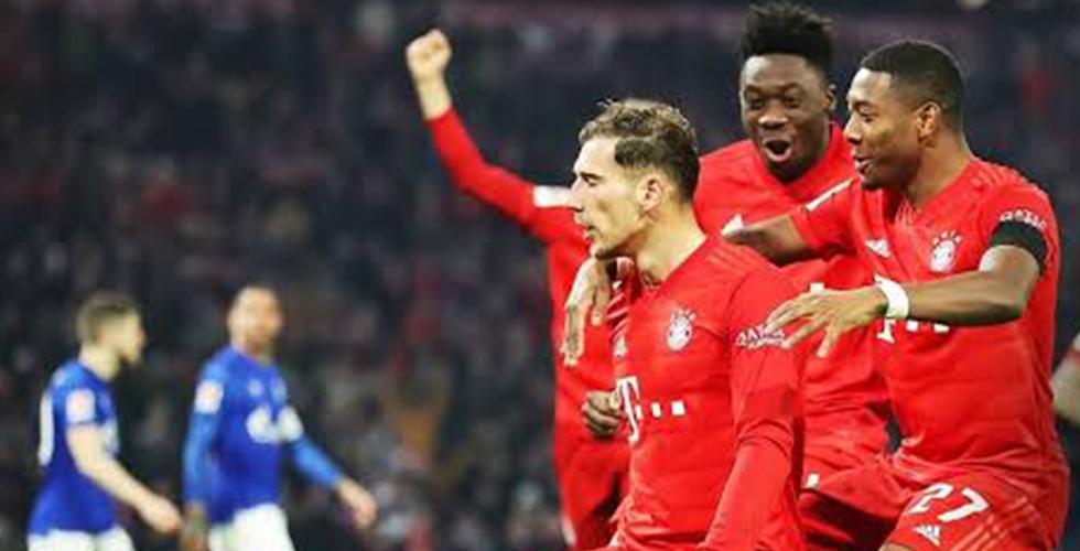 Bayern Münih-Schalke 04: 8-0