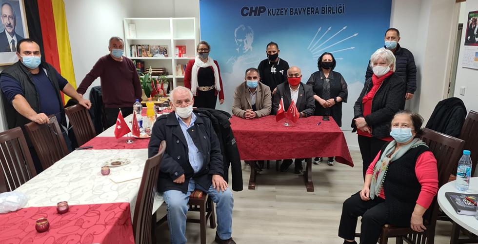 Kuzey Bavyera CHP'den Cumhuriyet bayramı kutlaması