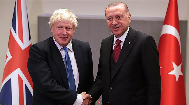 Erdoğan ve Johnson telefonda görüştü