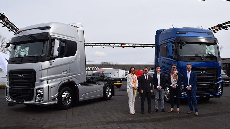 Ford Trucks Belçika pazarında