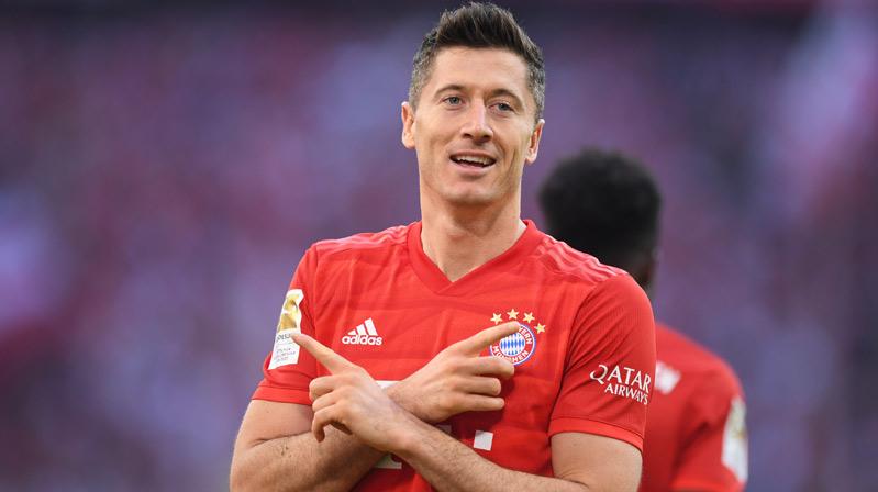 Lewandowski, Gerd Müller'in Bundesliga rekoruna ortak oldu
