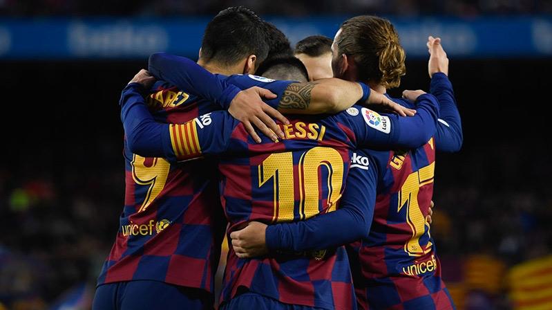 Kral Kupası'nda ilk finalist Barca