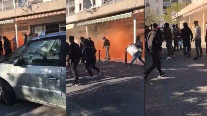 PKK sempatizanları, Türk Kültür Merkezi'ne saldırdı