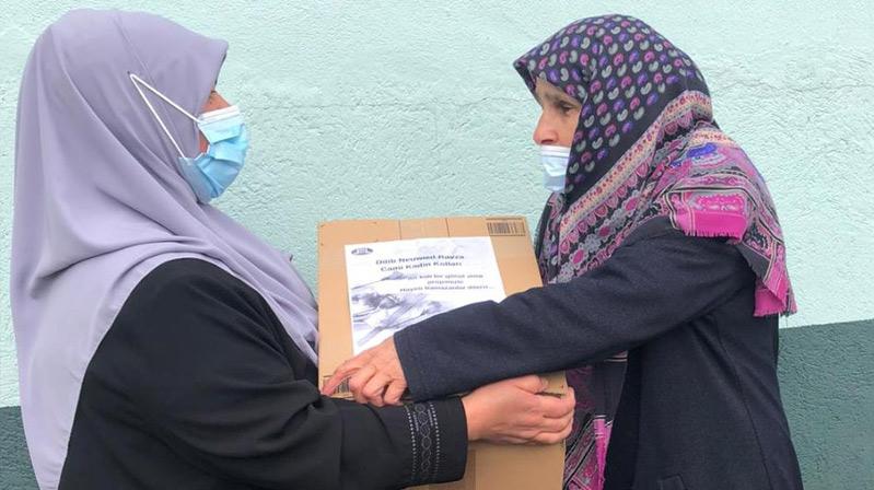 DİTİB Neuwied Ravza Camii kadın kolları gönül aldı